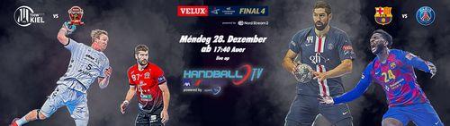 Ab haut ass et esou wäit ! VELUX EHF Final4 live op HandballTV