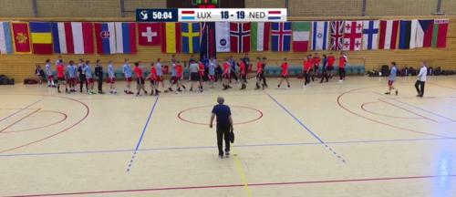 2019 Men's European Open 17 : Lëtzebuerg - Holland 18 - 19 (9 - 8)
