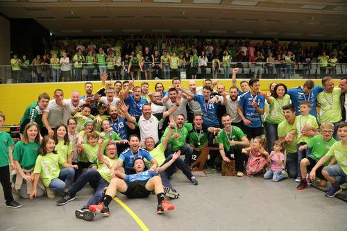 Den HB Käerjeng Champion vu Lëtzebuerg 2017-2018 bei den Hären !