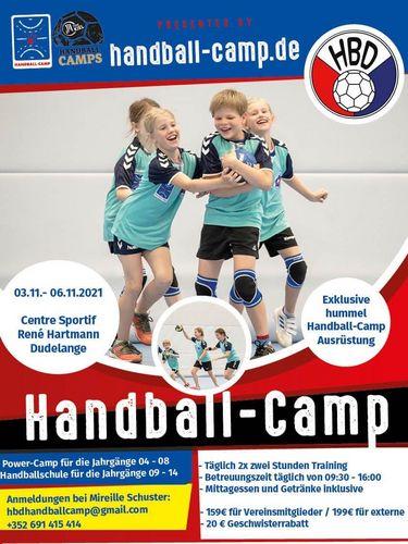 Handball-Camp vum HB Diddeleng