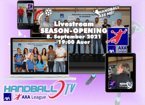 Mëttwoch 8. September ab 18:55 Auer Livestream vum FLH Season Opening 2021