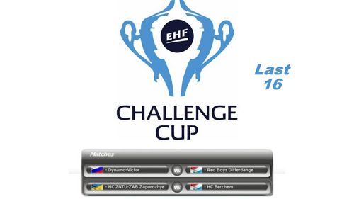 Dëse Weekend : Aachtels Finallen am EHF Challenge Cup