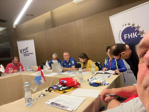 Women's EHF Euro2022 Quali R1 am Kosovo