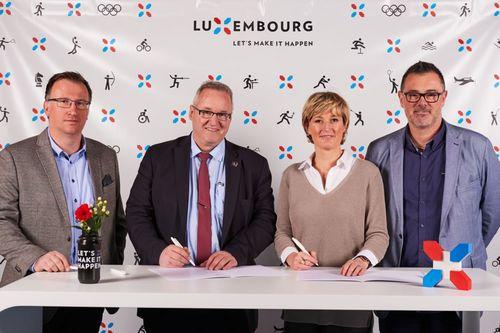 Partenariat Inspiring Luxembourg - FLH
