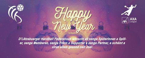 Happy New Year - Schéint Neit Joer