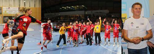 Den Handball bei der Wiel vun der Sportlerin, Coach an der Equippe vum Joer