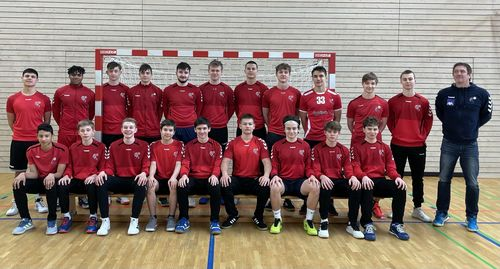 D'rout Léiwe vun der U17 preparéieren sech op d'EHF Championship am Juli beim Partille Cup a Schweden
