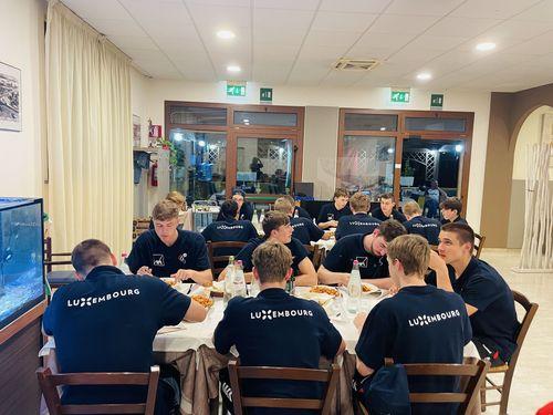 U17 Jongen an Italien