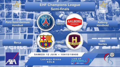 EHF Final4 2021 : Dëse Weekend Live op Handball TV
